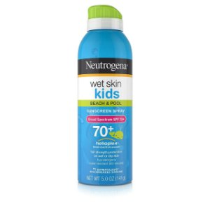 Neutrogena Wet Skin Kids Protetor Solar Spray FPS 70