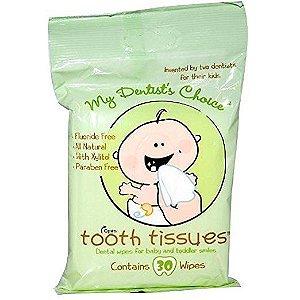 Lenços Umedecidos para Gengivas e Dentinhos - Tooth Tissues