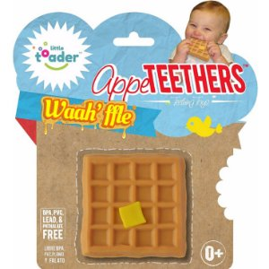 Mordedor Divertido Appe Teethers - Waffle