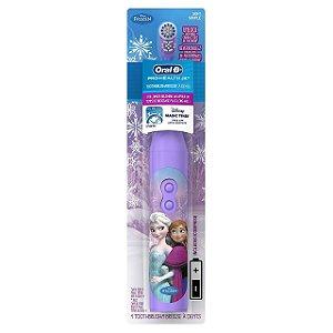 Escova Elétrica Oral B Frozen - Anna e Elsa