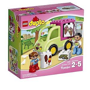 Lego Duplo Caminhão de Sorvete 10586