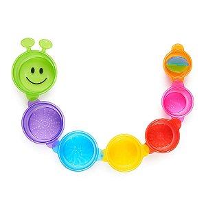 Brinquedo para Banho Lagarta Divertida Munchkin