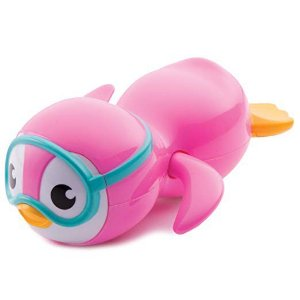 Brinquedo para Banho Pinguim Nadador Rosa Munchkin