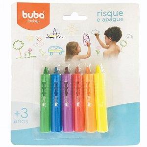 Risque e Apague Giz de Cera Banho - Buba Baby
