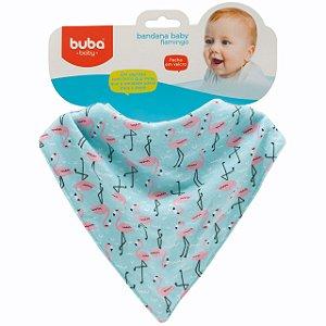 Babador Bandana Flamingos - Buba Baby
