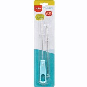 Escova para Limpeza de Canudo Azul - Buba Baby