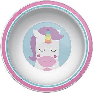 Pratinho Bowl Animal Fun Unicórnio - Buba Baby