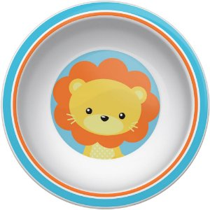 Pratinho Bowl Animal Fun Leão - Buba Baby