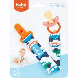 Prendedor de Chupeta Carrinhos - Buba Baby