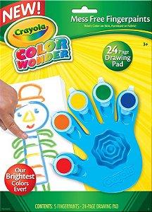 Color Wonder Pintura a Dedo de 5 Cores - Crayola
