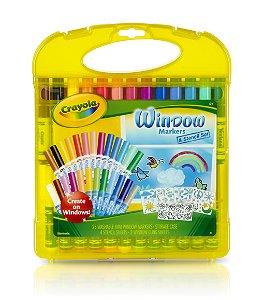 Kit Canetinhas para Vidro - Crayola