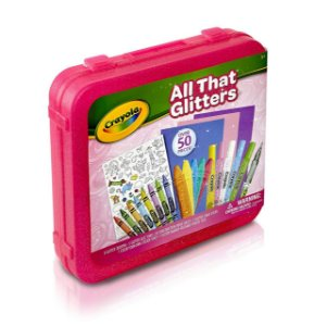 All That Glitters Art Case Pink - Crayola