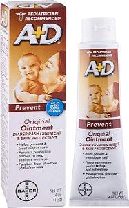 Pomada Bisnaga para Assadura A+D Ação Preventiva para Bebê 113g