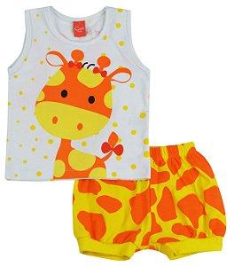 Pijama Girafa 2 Peças - Get Baby