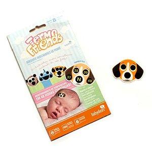 Termo Friends Adesivo Monitorador de Temperatura - Babydeas