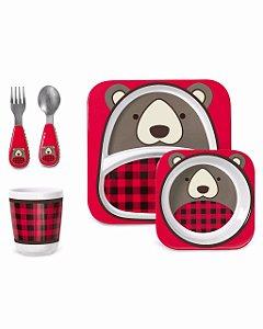 Kit Alimentação Urso - Skip Hop