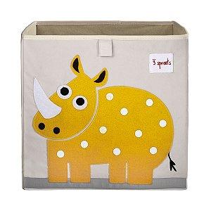 Organizador de Brinquedos Quadrado Rinoceronte - 3 Sprouts