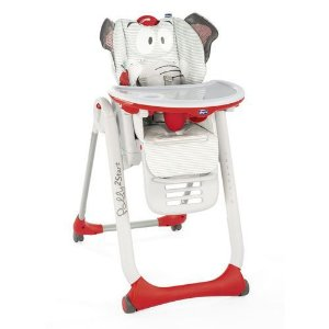 Cadeira de Alimentação Polly2start - B.Elephant - Chicco