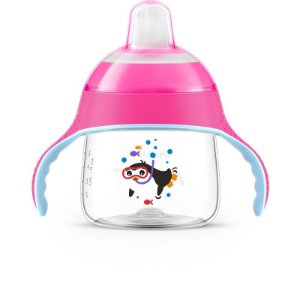 Copo Pinguim Rosa 200ml SCF751/07 - Philips Avent