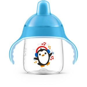 Copo Pinguim Azul 260ml SCF753/05 - Philips Avent