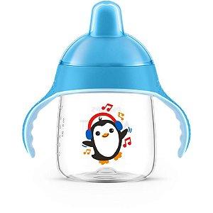 Copo Pinguim Azul 260ml SCF753/05 - Philips Avent