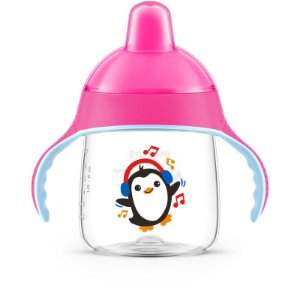 Copo Pinguim Rosa 260ml SCF753/07 - Philips Avent