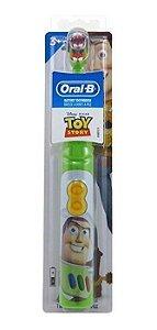 Escova Elétrica Infantil Toy Story Buzz - Oral B