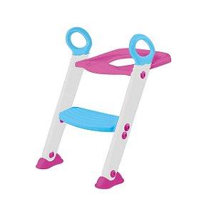 Assento Redutor com Escada Rosa - Buba Baby