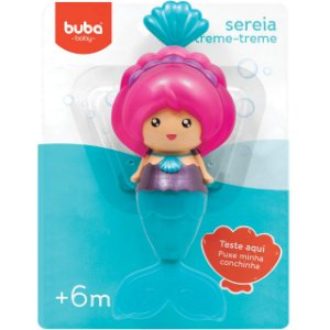 Sereia Treme-Treme para o Banho - Buba Baby
