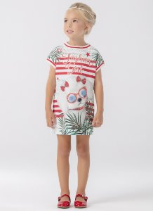 Vestido Mc Modern Red 186 - Petit Cherie
