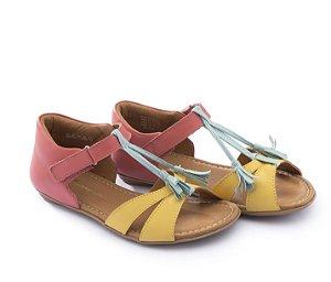 Sandália em Couro Baby Menina Joll J.JOL2-3815 - Tip Toey Joey