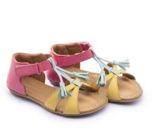 Sandália em Couro Baby Menina Little Joll T.JOL2-3815 - Tip Toey Joey