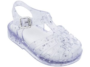 Sandália Possession Mini Vidro com Glitter - Melissa