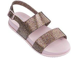 Sandália Mel Cosmic Sandal Infantil Rosa Glitter - Melissa