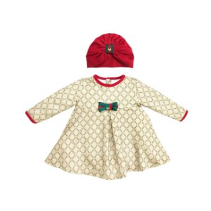 Grw Body Vestido c/ Turbante La Vitta Creme - Grow Up
