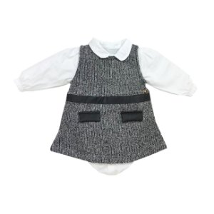 Grw Vestido c/ Body Chanel Branco - Grow Up
