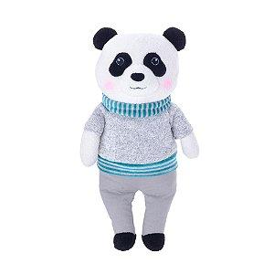 Bichinho de Pelúcia Panda Cinza - Metoo