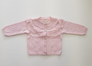 Casaco Audreis Baby Rosa - Mini Lady