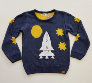 Sweater Tricot Infantil Menino Dylan - Mini Lord