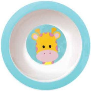 PRATINHO BOWL ANIMAL FUN - GIRAFA