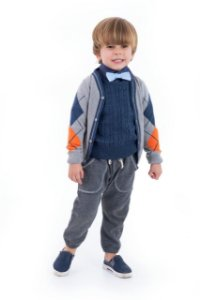 SWEATER COLORS KIDS MARINHO