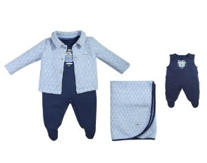 GRW KIT NEWBORN STREET TOP GUN AZUL