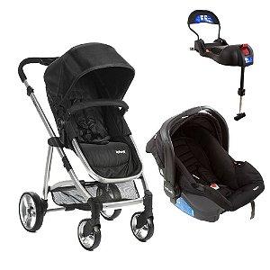 TRAVEL SYSTEM EPIC LITE TRIO INFANT ONYX