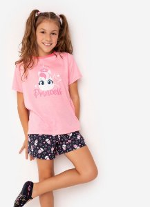 SHORT DOLL MC TEEN ECO UNICORNIO ROSA