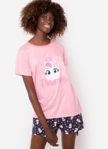 SHORT DOLL MC AD ECO UNICORNIO ROSA