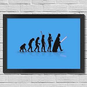 Quadro Decorativa Geek Evolution