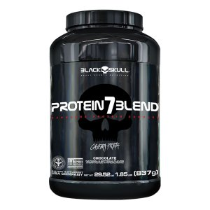 Protein 7 blend caveira preta 837g