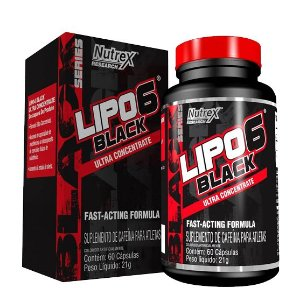 Lipo 6 Black Ultra 60 caps Nutrex