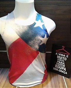 REGATA MAURICINHO BANDEIRA USA