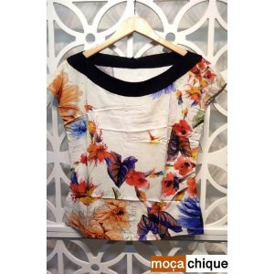 T-Shirt Viscose Estampa